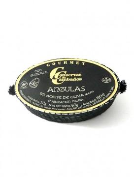 Angulas en aceite de oliva Cambados Gourmet 120 g