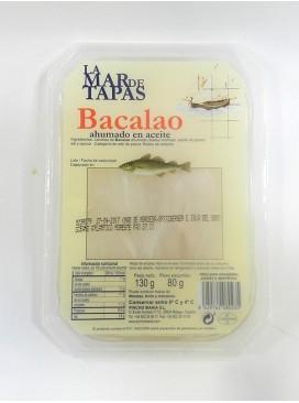 Bacalao ahumado en aceite La Mar de Tapas 130 g