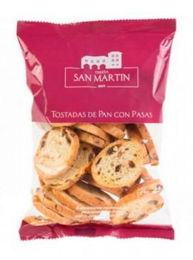 Tostada de pan con pasas Teresa San Martín 125 g