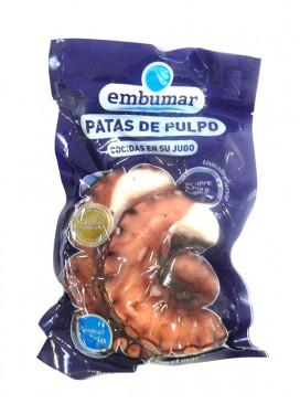 Patas selectas de pulpo cocido en su jugo Embumar 300g