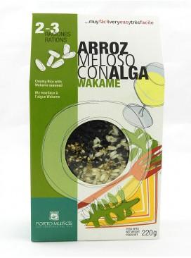Arroz meloso con alga Wakame Porto Muiños 220 g