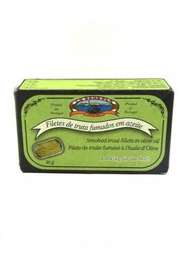 Filetes de trucha ahumada en aceite La Góndola 120 g