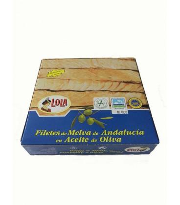 Filetes de melva de Andalucía IGP en aceite de oliva Lola 280 g