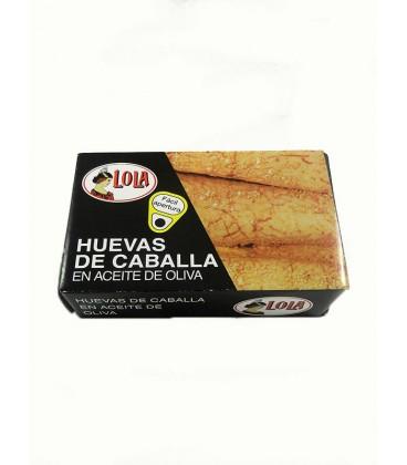 Huevas de caballa de Andalucía IGP en aceite de oliva Lola 125 g