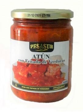 Fritada de atún con verduras Pesasur 400 g