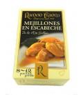 Mejillón grande en escabeche de aceite de oliva Ramón Franco (8-12 uds.) 115 g