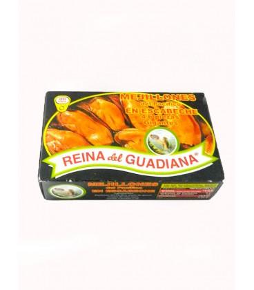 Mejillones en escabeche Reina del Guadiana (4-6 uds.) 120 g