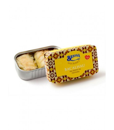 Sardinas sin piel y sin espina en aceite de oliva, limón y albahaca Briosa Gourmet 120 g