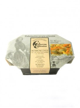 Berberechos grandes al natural Cambados Especialidades (30-40 uds) 120 g