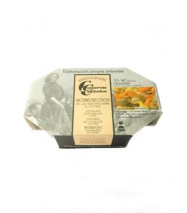 Berberechos al natural Cambados Especialidades (30-40 uds) 120 g