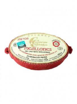 Mejillones en escabeche gigantes Cambados Gourmet (4-6 uds) 120 g
