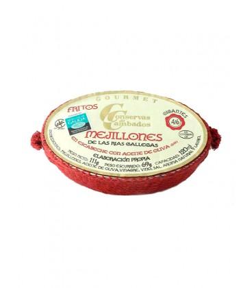 Mejillones en escabeche Cambados Gourmet (4-6 uds) 120 g