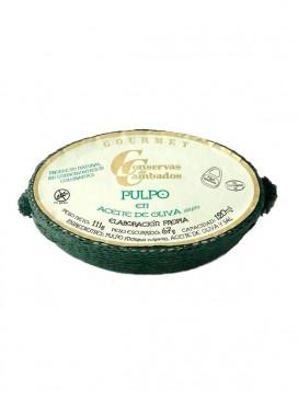 Pulpo de las Rías Gallegas en aceite de oliva Cambados Gourmet 120 g