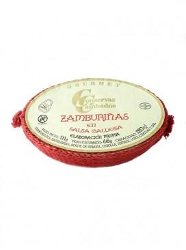 Zamburiñas de las Rías en salsa gallega Cambados Gourmet 120 g