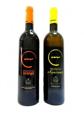 Pack Misterio Orange y Experience (vinos de naranja y limón) 75cl + 75 cl