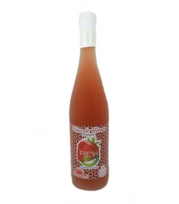 Fresn on Frizzante vino de fresa 75 cl
