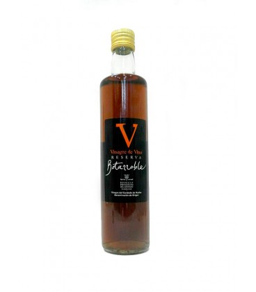 Vinagre de vino reserva Botarroble 50 cl