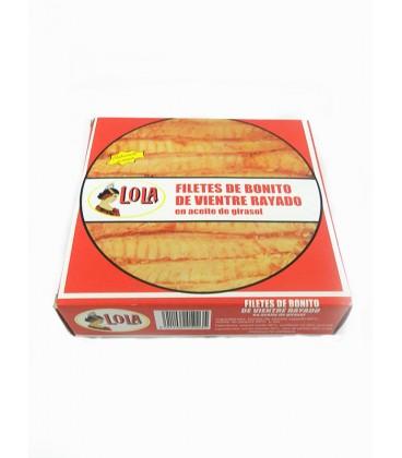 Filetes de Bonito de vientre rayado Lola 550 g