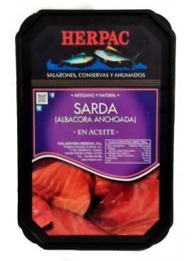 Filetes de sarda en aceite Herpac 550 g