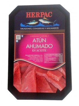Atún ahumado en aceite Herpac 550 g