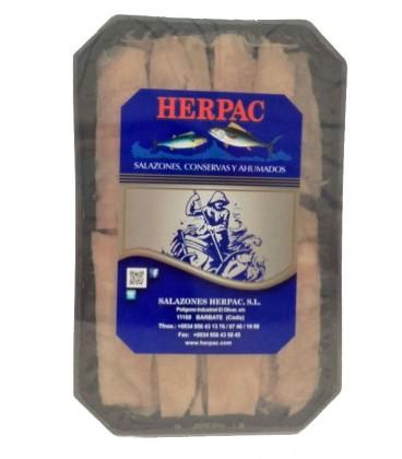 Ventresca de atún pasteurizada en aceite Herpac 1 Kg