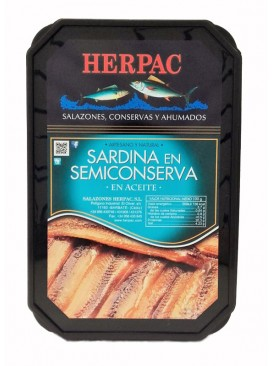 Sardina en semiconserva en aceite Herpac 740 g