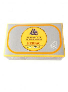 Sardinillas en aceite de oliva Herpac 115 g