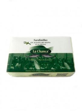 Sardinillas en aceite de oliva La Chanca 125 g