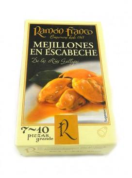 Mejillón grande en escabeche Ramón Franco (7-10 uds.) 115g
