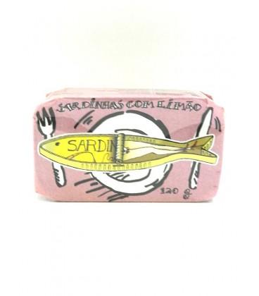 Sardina con limón La Góndola Design 120 g