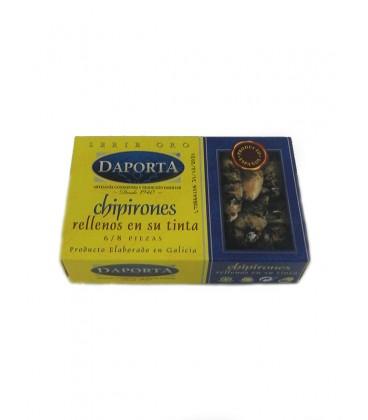 Chipirones rellenos en su tinta (6-8 uds) Daporta 120 g