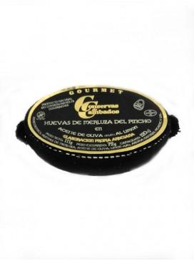 Huevas de merluza de pincho al limón Cambados Gourmet 120 g