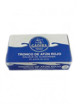 Tronco de atún rojo de almadraba en aceite de oliva Gadira 120 g