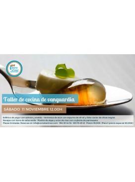 Taller cocina de vanguardia 11-11-17 12.00h