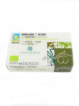 Ensalada de algas en aceite de oliva virgen extra Porto Muiños 125 g