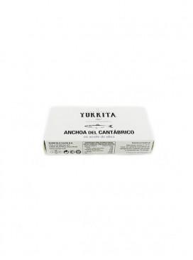 Anchoa del Cantábrico en aceite de oliva Yurrita (10-12 ud) 50 g