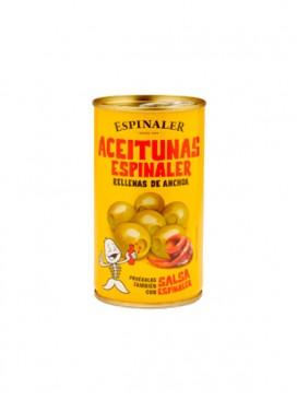 Aceitunas rellenas de anchoa Espinaler 350 g