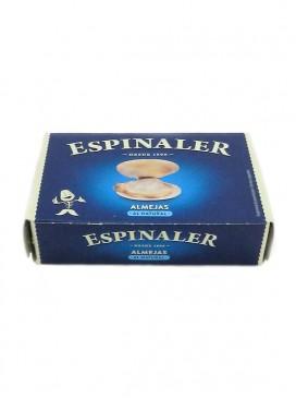 Almejas al natural Espinaler (15-20 uds) 120 g