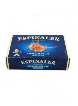 Caracol de mar (Cañaillas) al natural Espinaler 120 g