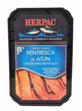 Ventresca de atún en escabeche dulce Herpac 250 g