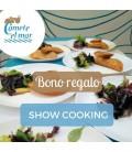 Bono regalo para show cooking