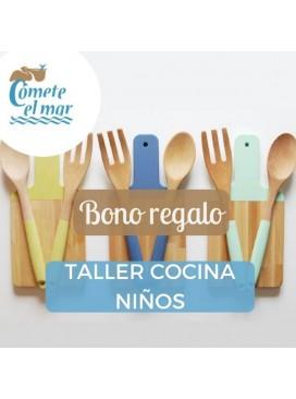Bono regalo para Taller de cocina para niños