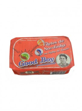 Filetes de sardina en salsa de tomate Good Boy 120 g