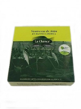Ventresca de atún en manteca blanca La Chanca 525 g