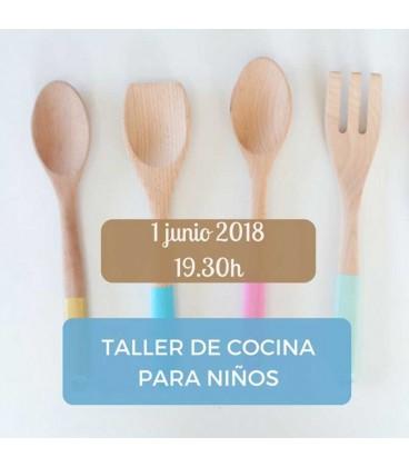 Taller de cocina para niños 01-06-18 19:30