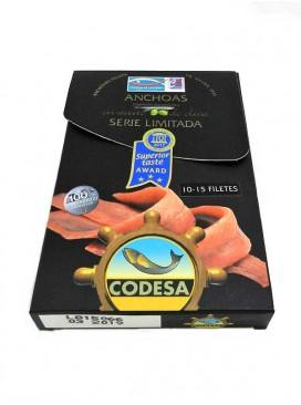 Filetes de anchoa grande en aceite de oliva Codesa S. Limitada (10-15 uds) 115 g