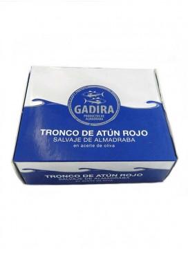 Tronco de atún rojo salvaje de almadraba en aceite de oliva Gadira 320 g