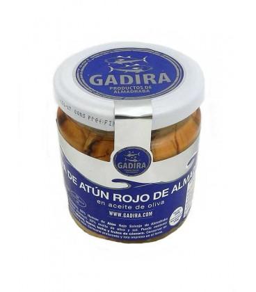 Hueva de atún rojo salvaje de almadraba en aceite de oliva Gadira 250 g