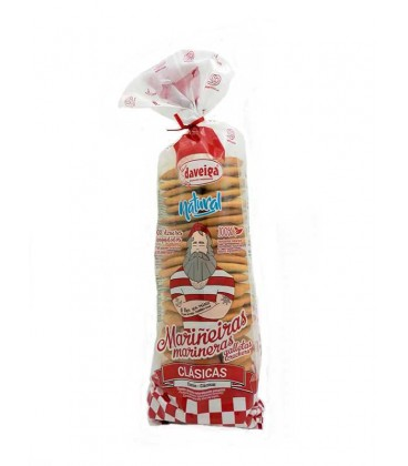 Galletas Mariñeiras con mantequilla Daveiga 200 g