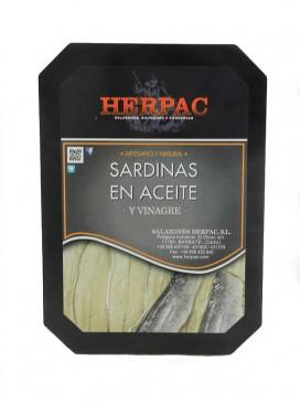 Sardinas en aceite y vinagre Herpac 150 g